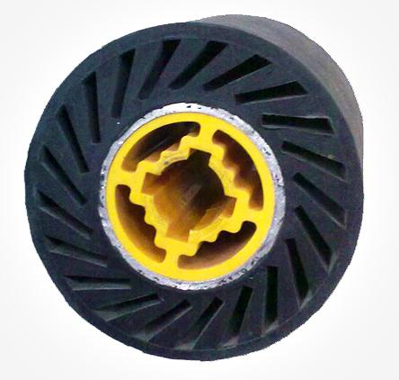 拉丝橡胶轮