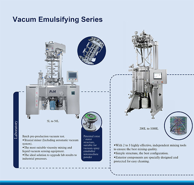 Vacum Emulsifying Series