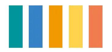 把刚才举例子的颜色拿出来展示