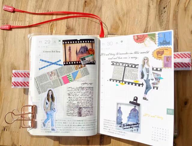 浙大女孩坚持手账12年:生活本是件小事,书写让她变得不同!