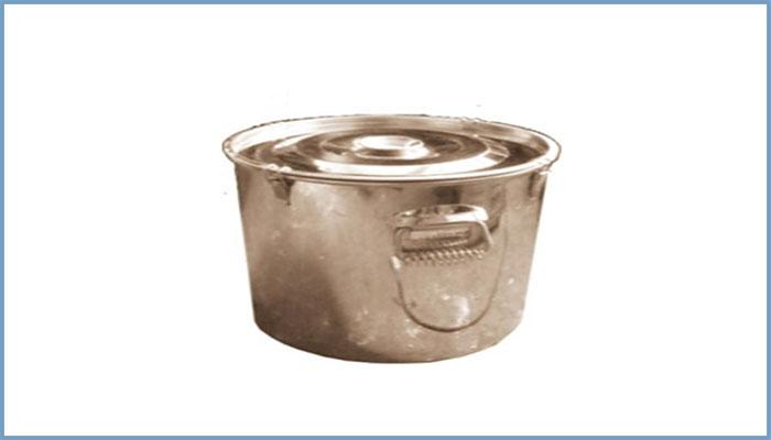 不锈钢密封式全水分煤样桶ZY/TF25