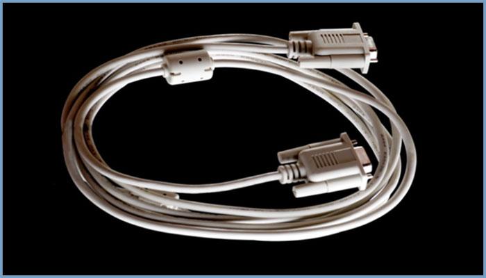 带磁环串口线