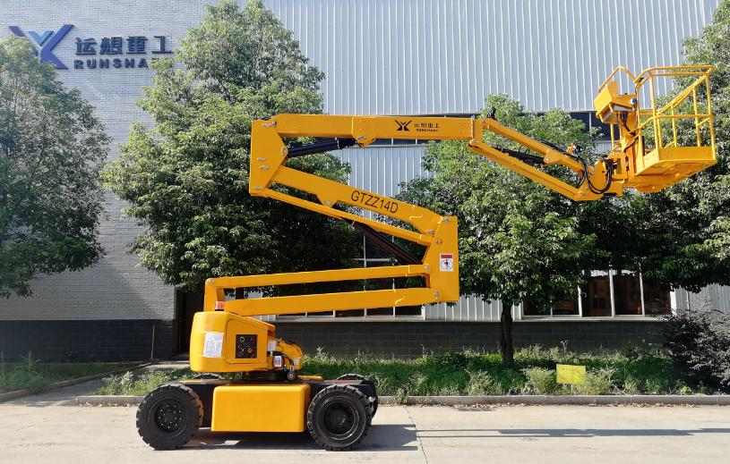 GTZZ10D/12D/14D/16D电动曲臂式高空作业平台