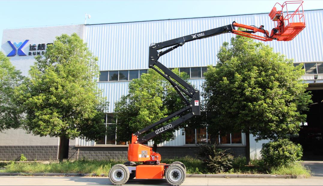 GTZZ20D电动曲臂式高空作业平台