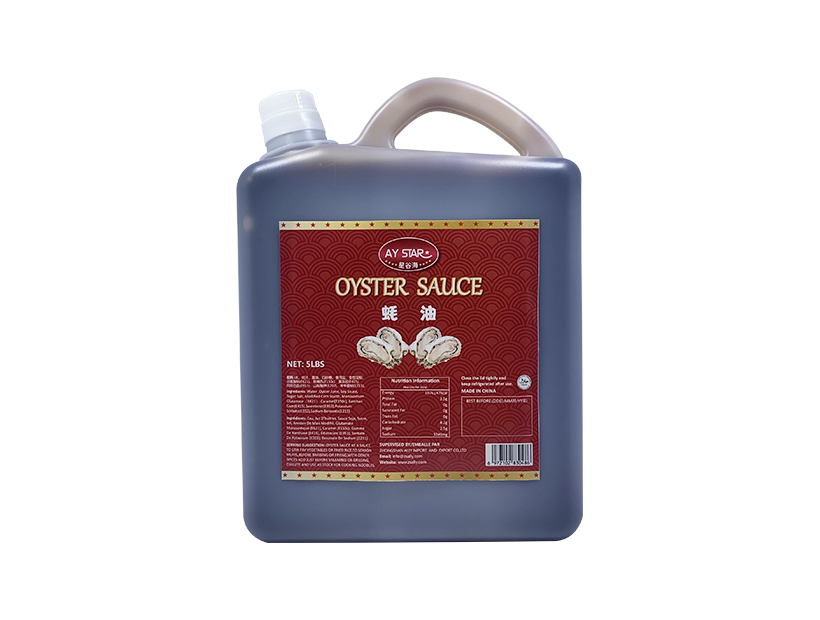 5LBS  HACCP Free Sample Gold Standard Delicious Chinese Oyster Sauce