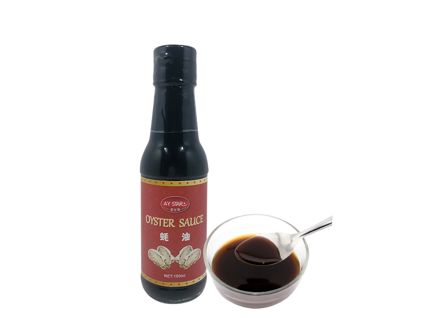 150g glass bottle  Chinese Premium Wholesale Vegetarian Oyster Sauce