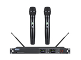 One for two, four for eight wireless microphones