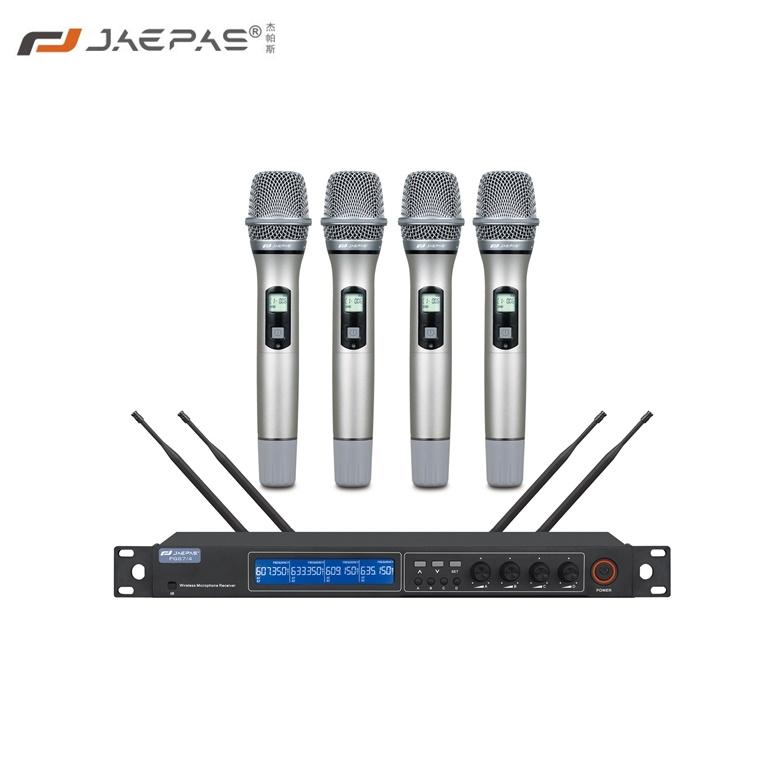 One drag four wireless handset PG87-4 square