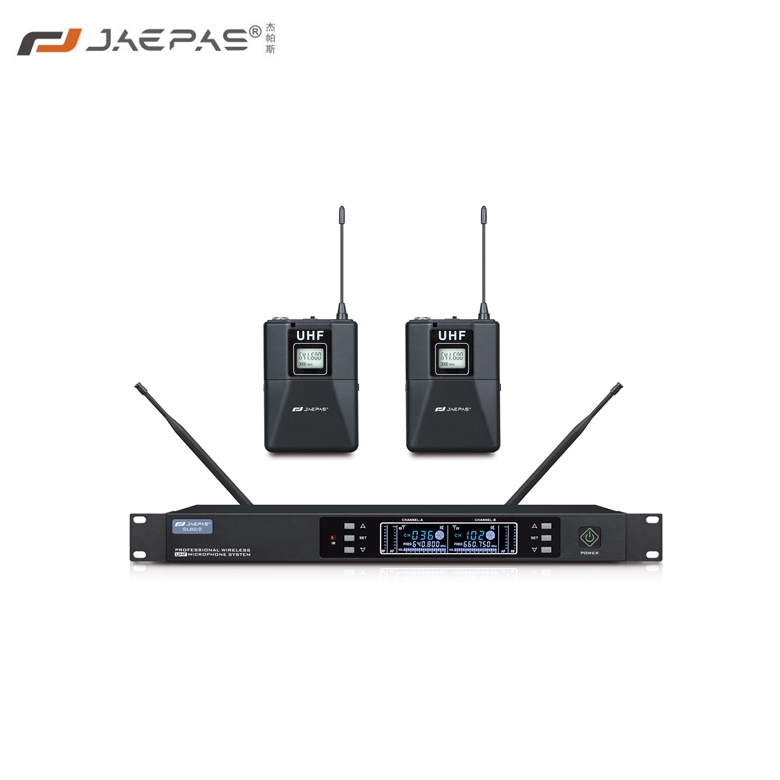 One drag two wireless Bodypack microphone SL52-2 square