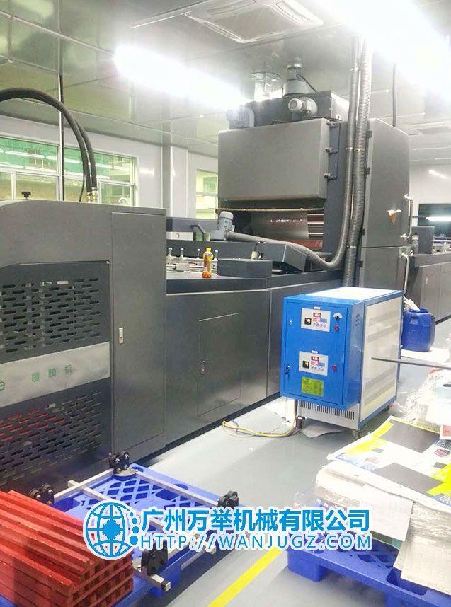 复膜机辊筒控温双机一体水循环模温机