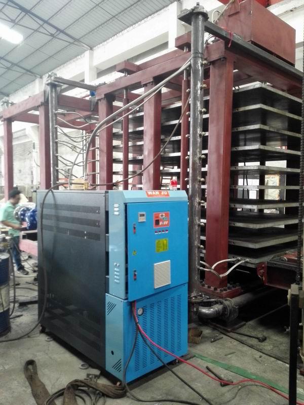 油壓機鐵板油加熱器