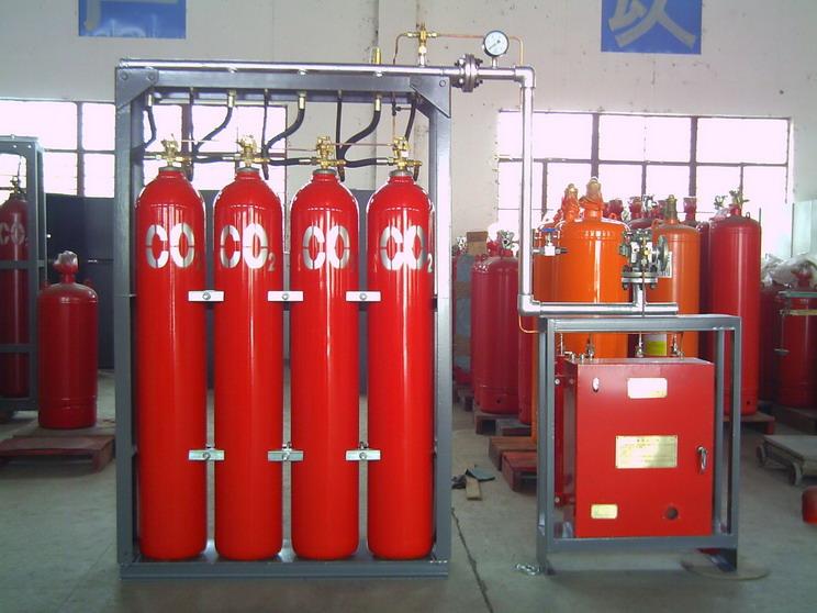上海安航CO2灭火系统