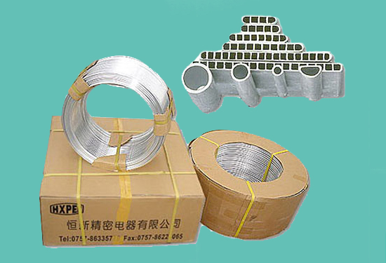 Continual Extruding Type Aluminum Tube