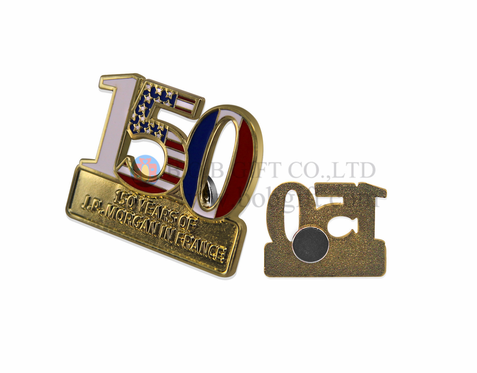 Zinc Alloy Badges