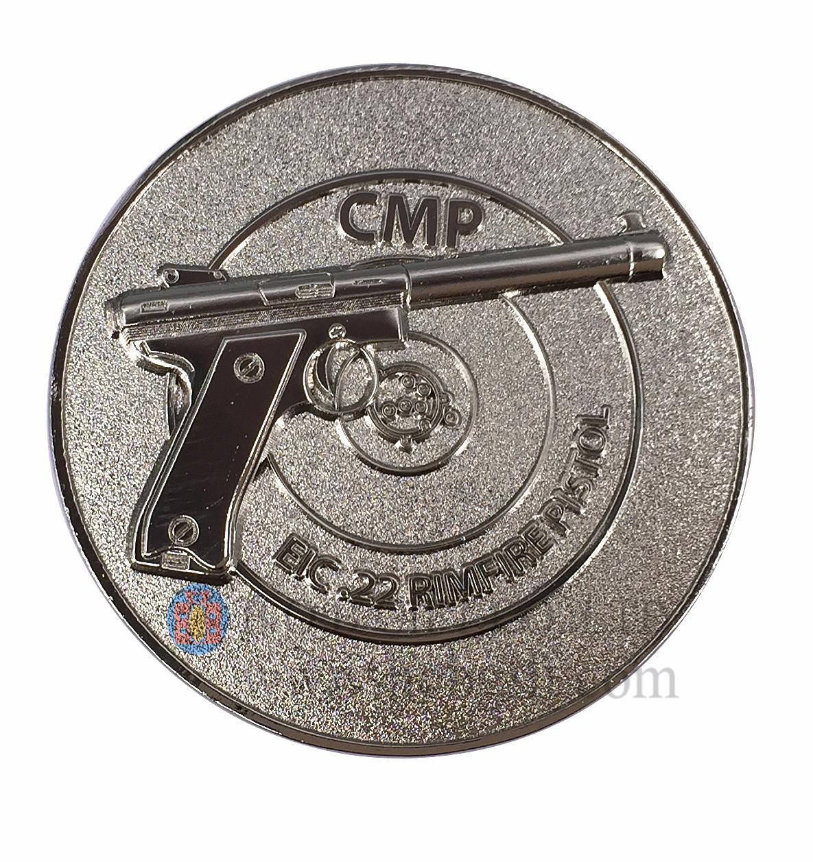Zinc Alloy Soft Enamel Coins
