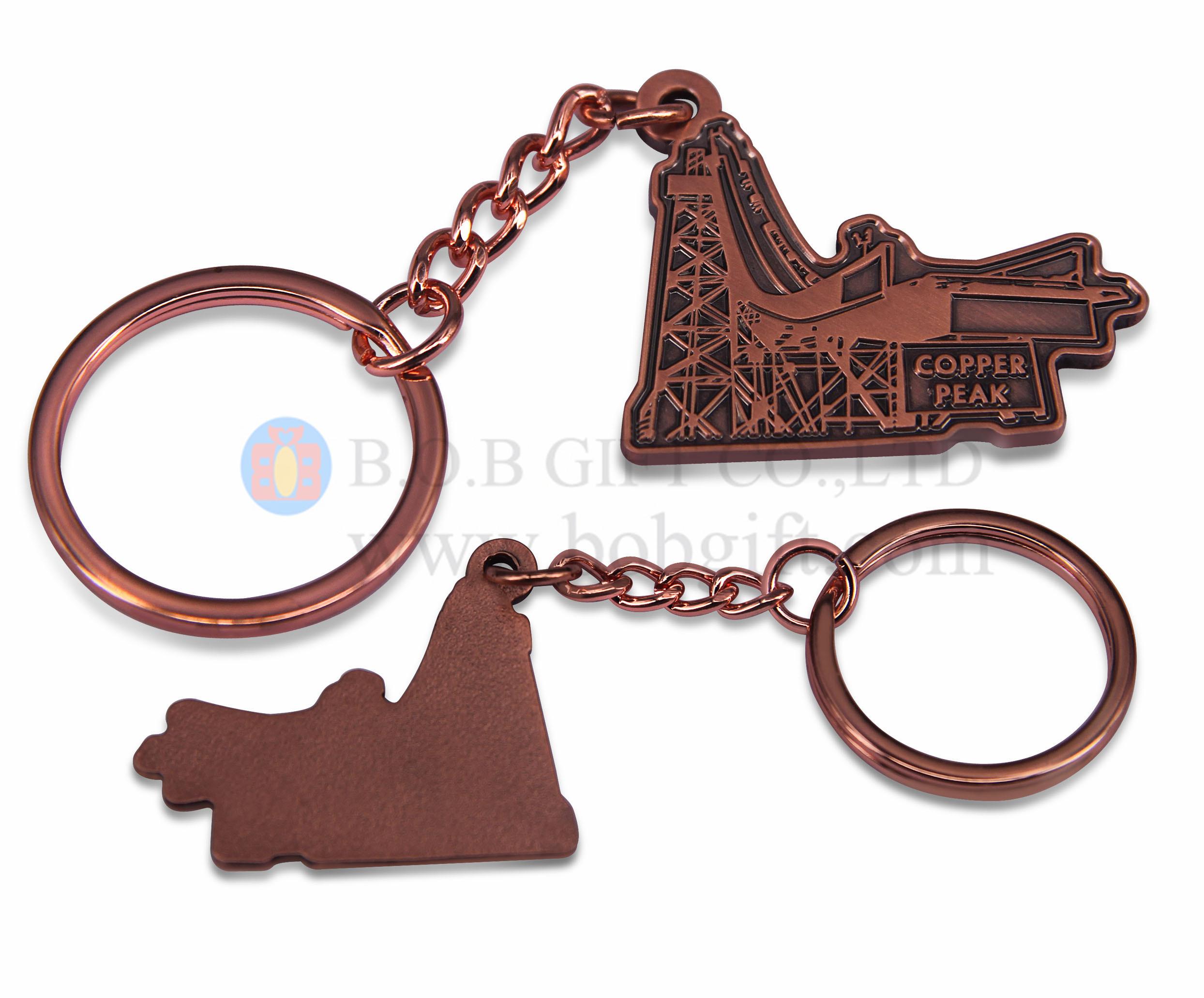 Brass Iron Keychains