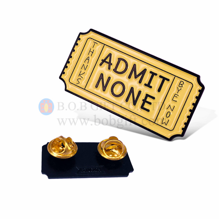Iron Soft Enamel Pins