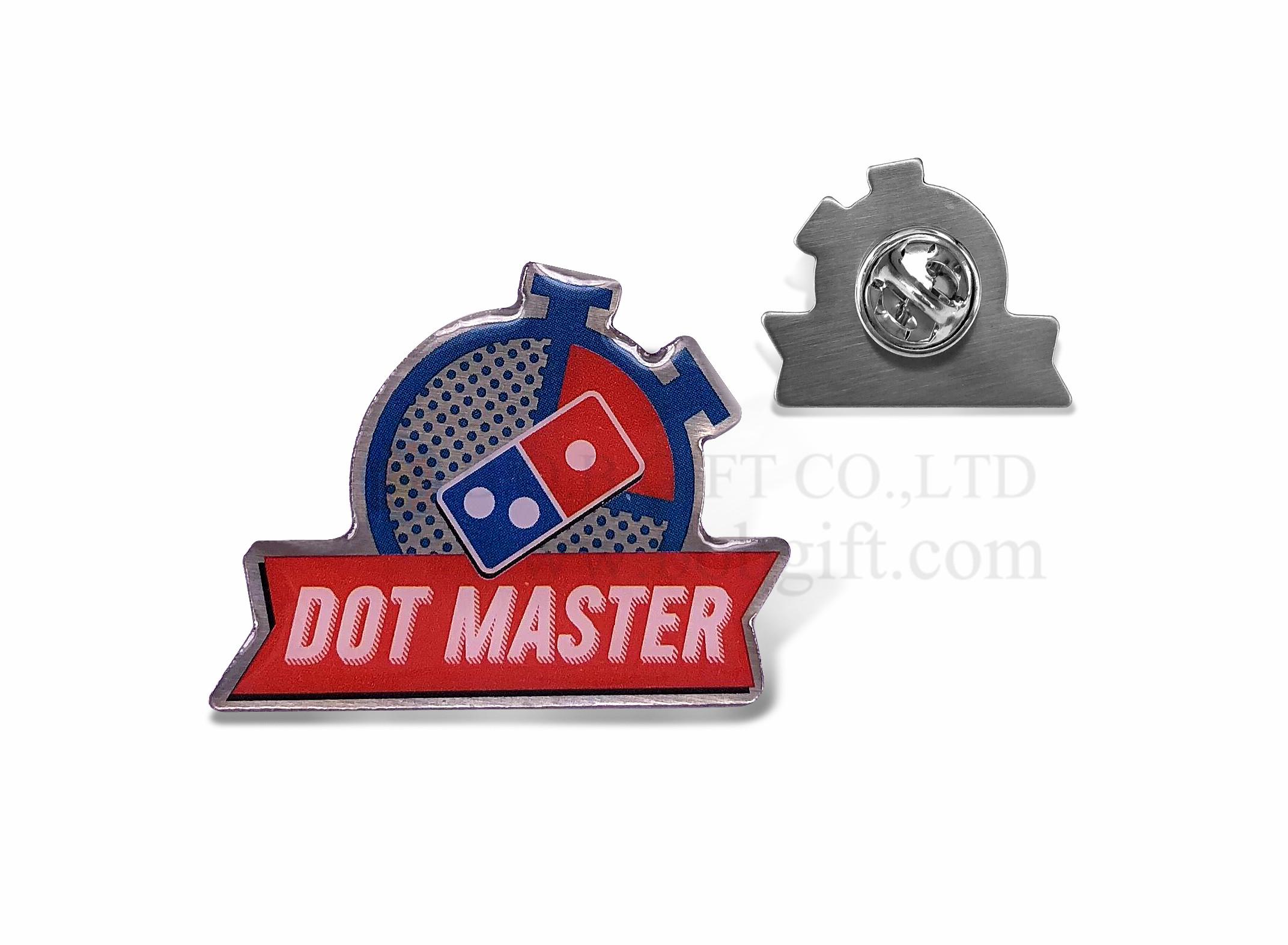Offset Printed Pins