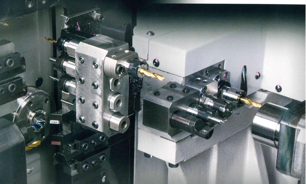 数控走心机床原理 实现对零件的高效加工