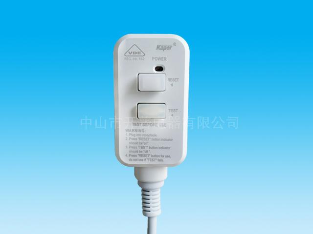 German standard 2P leakage protection plug