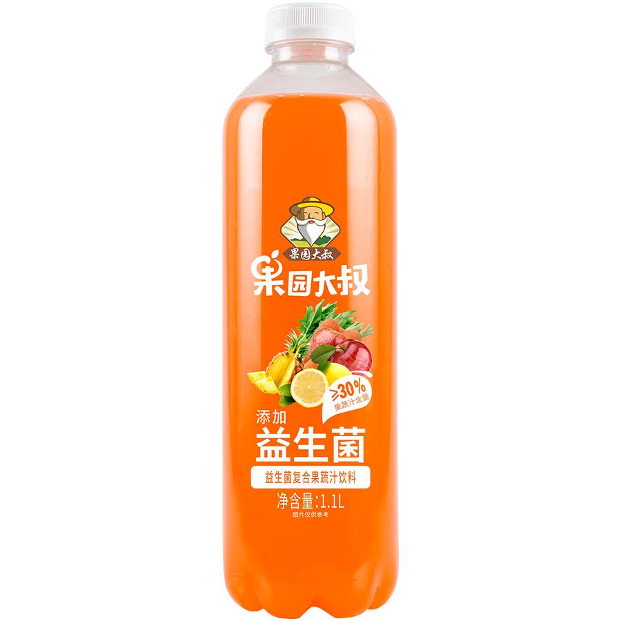 果园大叔益生菌复合果蔬汁饮料