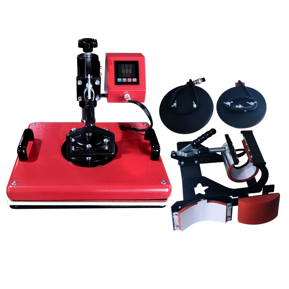 Combo Heat Press Machine(5 in 1)
