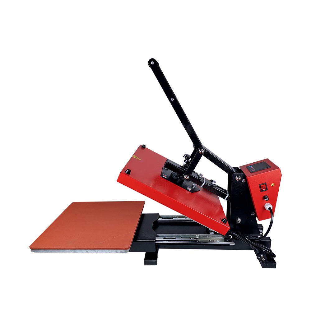 Clamshell Heat Press with Slide-out Bed