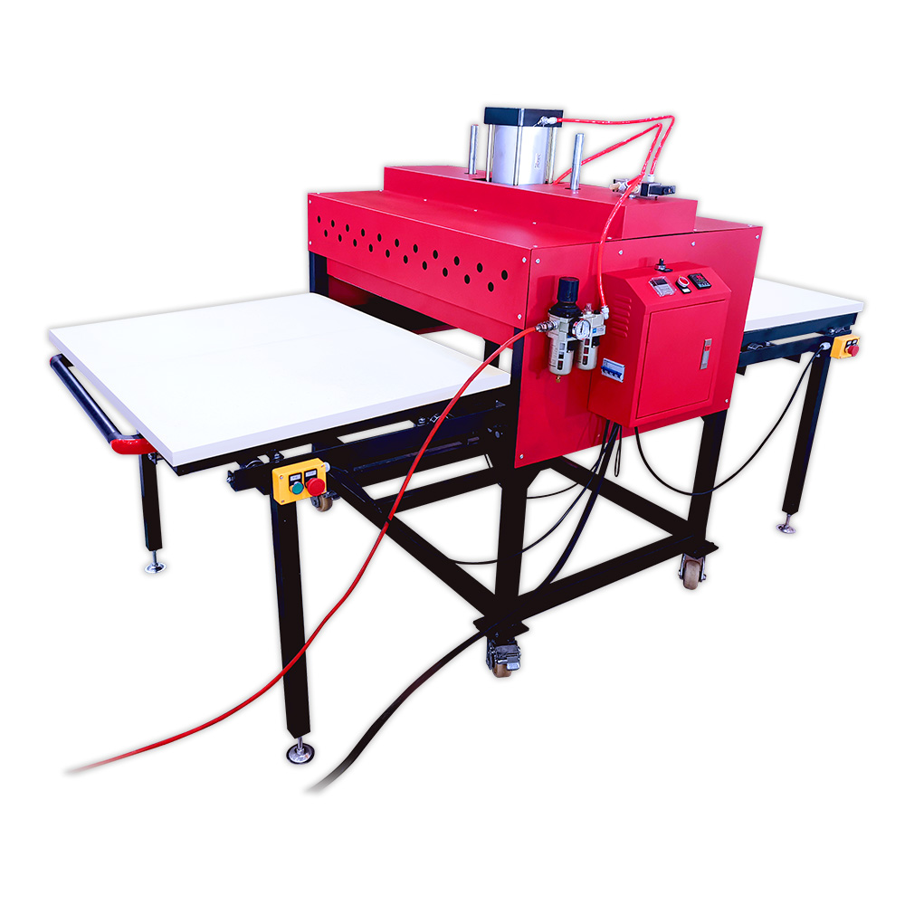 Large Format Pneumatic Double Station Heat Press