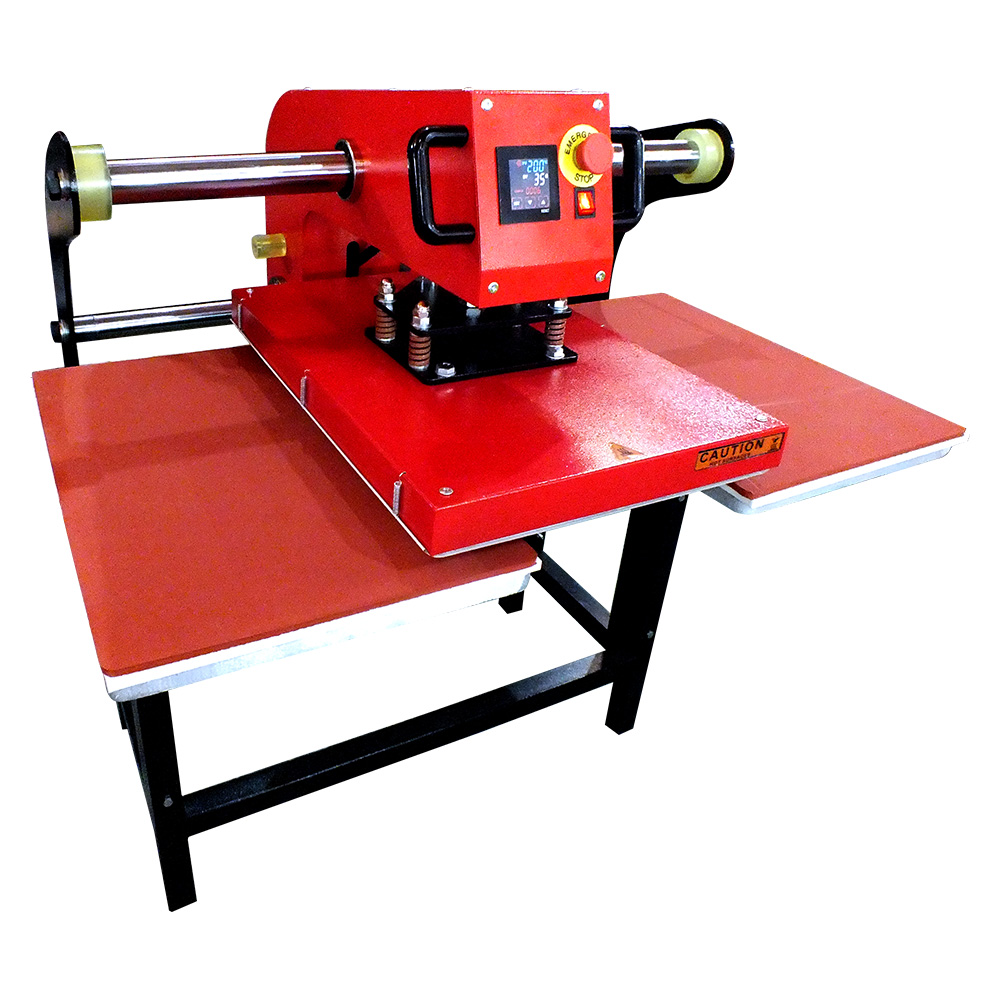 Double Station Pneumatic Automatic Heat Press