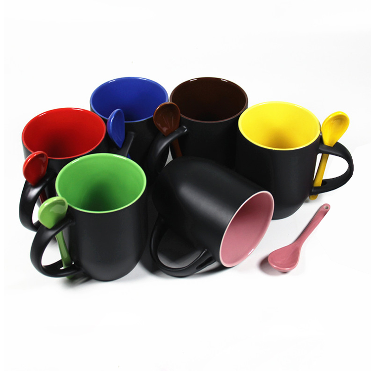 Changing Color Spoon Mugs
