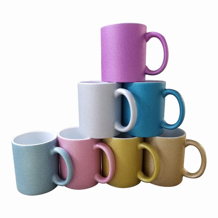 Glitter Mugs