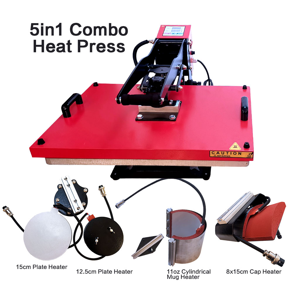 Combo Heat Press Machine(12 in 1)