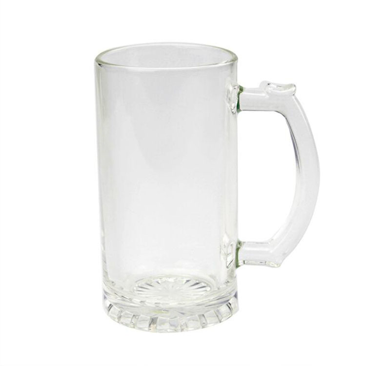 Sublimation Transparent Glass Mug