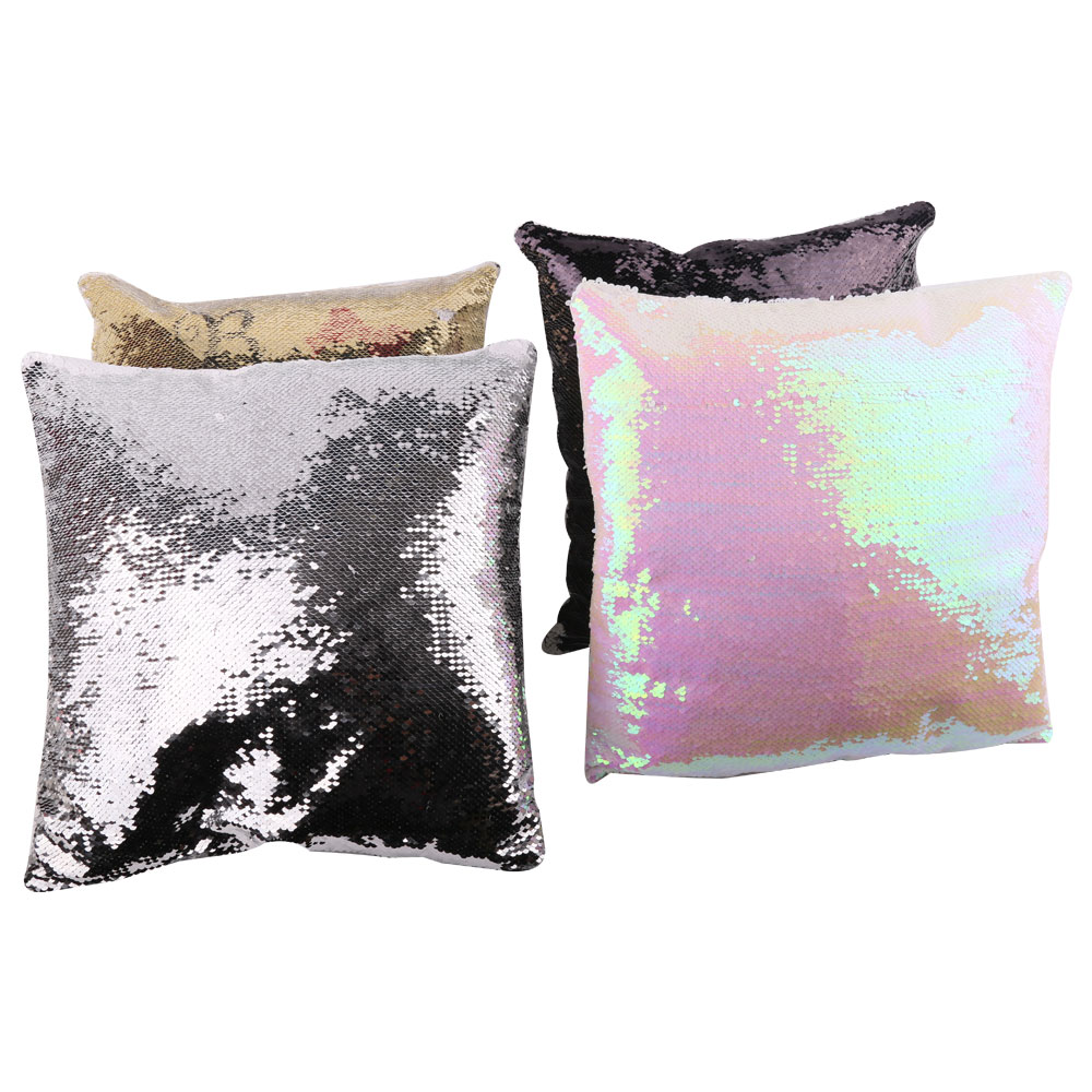 Blank Sequin Pillow Cover(Square)