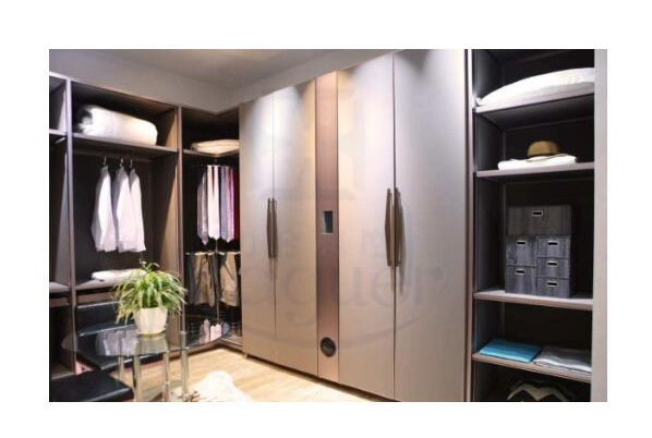 Application scheme of intelligent wardrobe