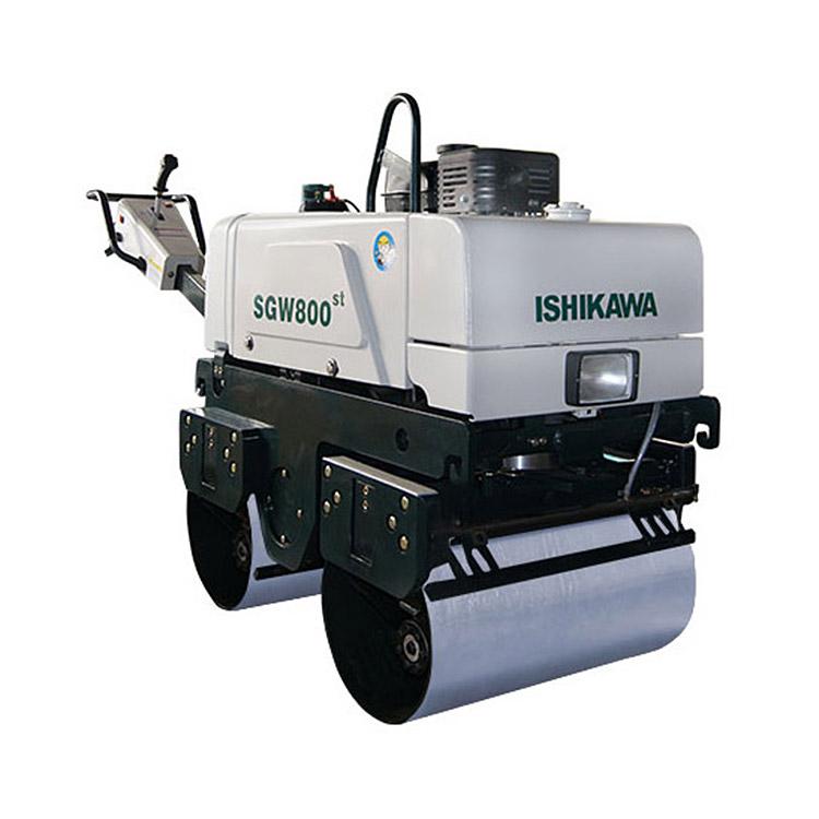 手扶雙鋼輪振動壓路機SGW800