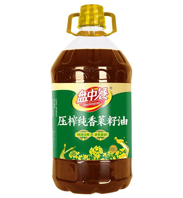 压榨纯香菜籽油