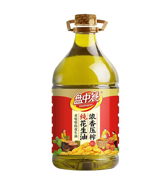 浓香压榨纯花生油
