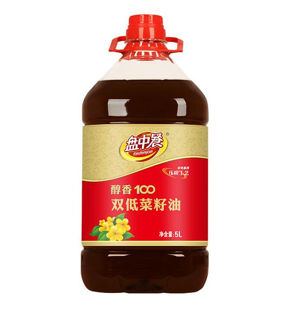 醇香100双低菜籽油
