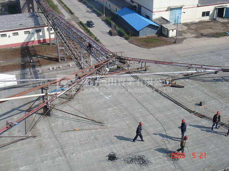 氧化鋁輸送系統現場