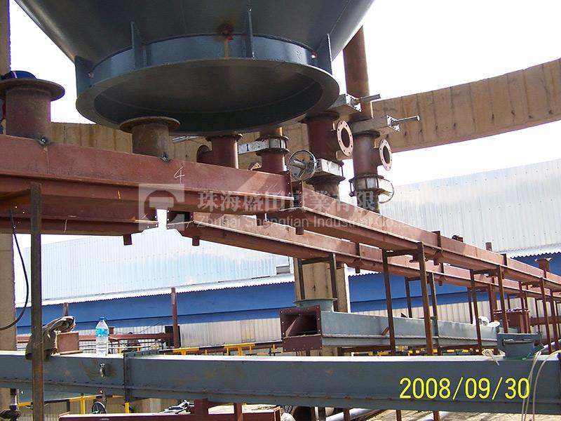 氧化鋁輸送係統現場