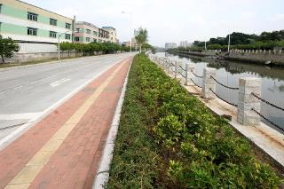 增城新塘镇水南涌流域截污整治工程