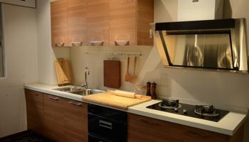 实木厨房风格效果