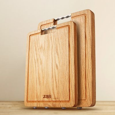 红橡木整木菜板(礼盒装)