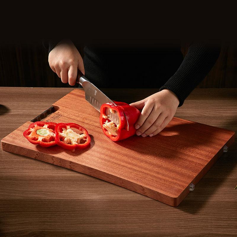 乌檀木礼盒装菜板