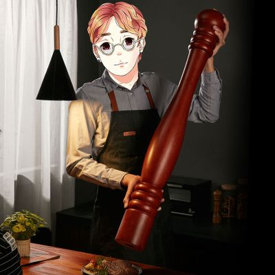 网红餐厅大型研磨器