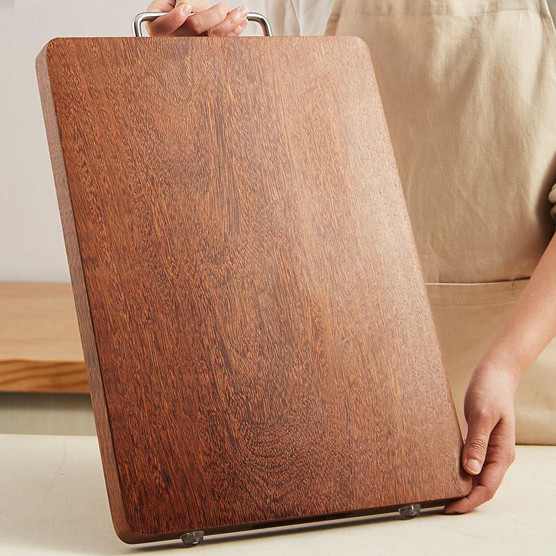 黑金檀方形整木砧板菜板