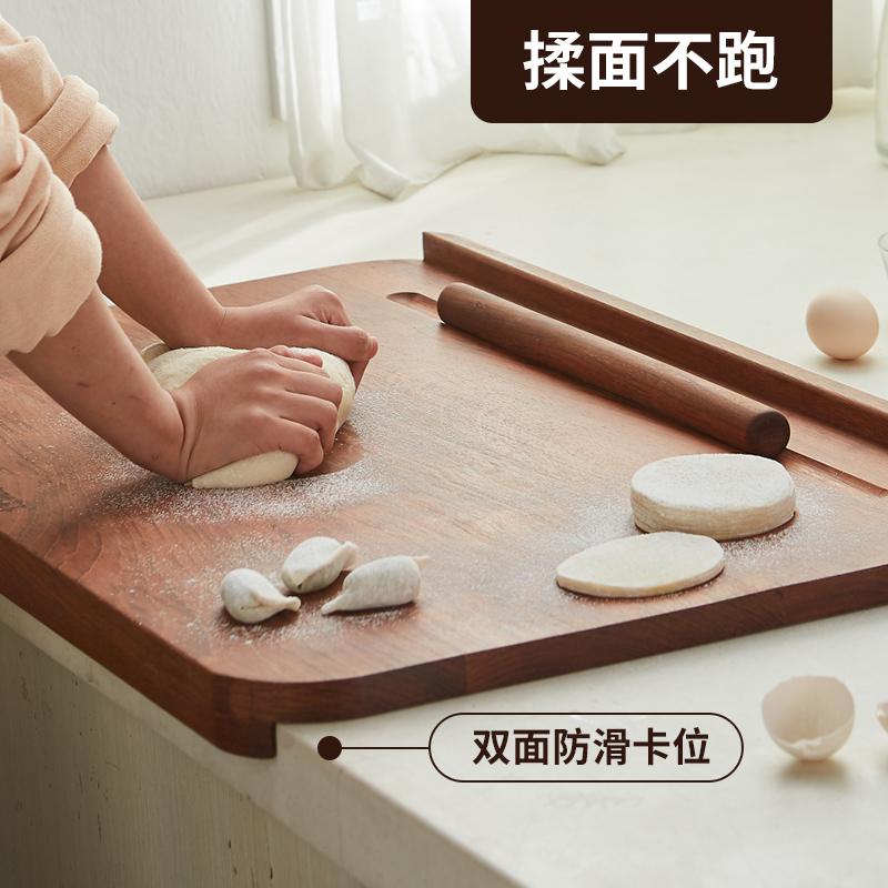 南美花梨木擀面板烘焙垫(中国结设计)