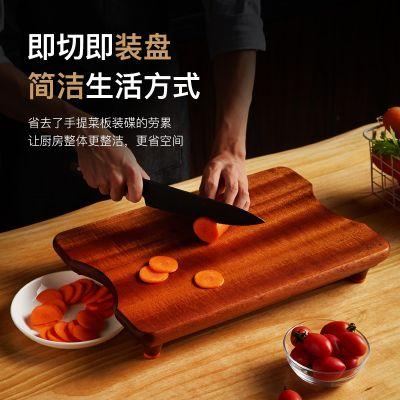 乌檀木礼盒装高脚菜板