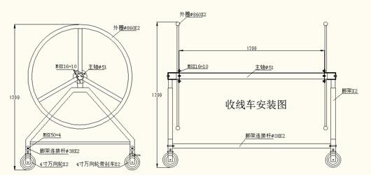 泳线车(1.2米、1.8米)